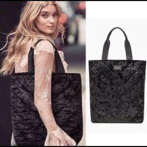 Victoria's Secret Crushed Velvet Tote Bag